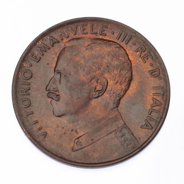 1917 Italy 2 Centesimi Coin in Unc. KM# 41