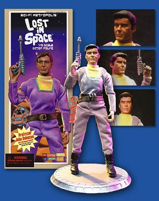 Lost in Space - John Robinson 3° Stagione 30.5cm Action Figure   Irwin Allen