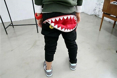 New Fashion Chidlren Boys Girls Unisex Trousers Shark Kids Shorts Clothes Pants