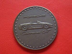 Agressif Porsche Carrera Gt 2002 Médaille-afficher Le Titre D'origine