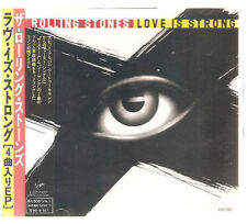 """ROLLING STONES """"Love Is Strong"""" 4 Track Japan CD"""