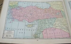 1933-Map-of-Turkey-From-The-Commercial-Atlas-of-the-World