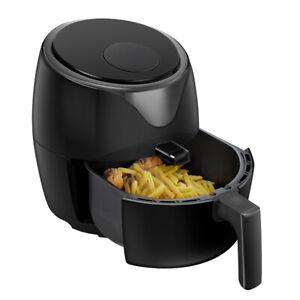 Healthy Choice 1400W 5L Digital  Electric Air Fryer Cooker/Baker/Non-Stick Black