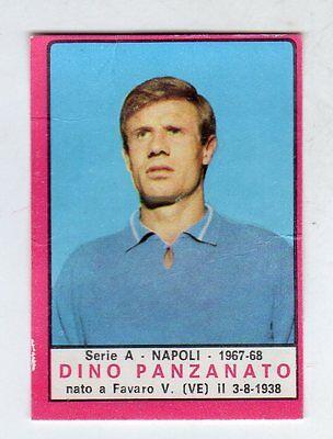 NAPOLI PANZANATO figurina CALCIATORI PANINI 1967//68 REC