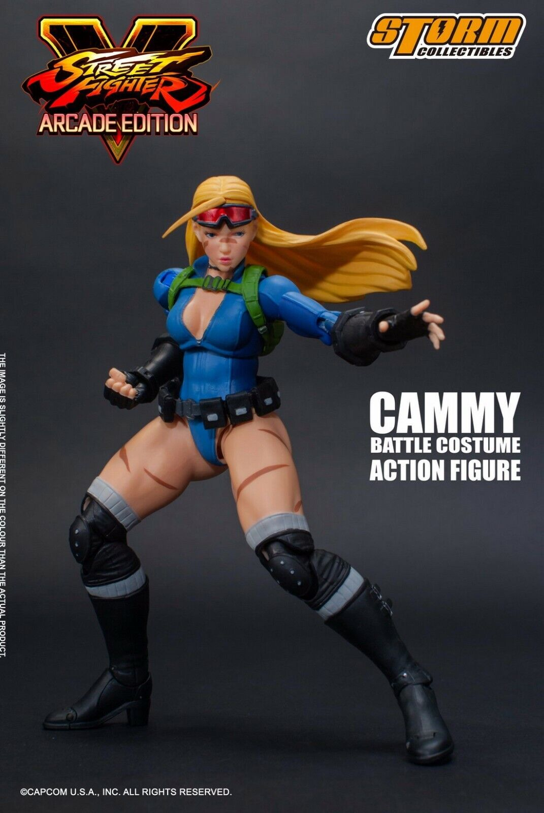 Storm Toys 1 12 Cammy Street Fighter V Action Figure Set W 3 Head Sculpt Collect