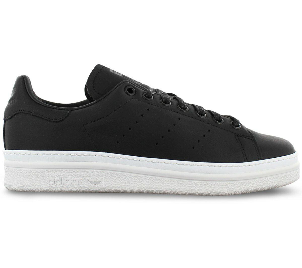 Adidas Originals Stan Smith New Bold W Damen Turnschuhe B28152 Schwarz Schuhe NEU