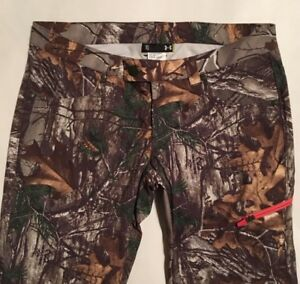 ca044de354617 NWT Women's Under Armour Camo Hunting Pants Size 10 Scent Control ...