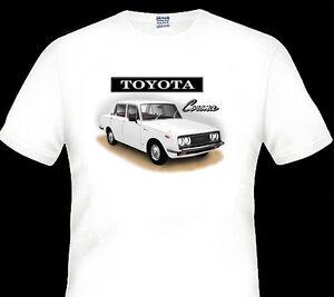 TOYOTA-RT40-1500-CORONA-QUALITY-WHITE-TSHIRT-6-CAR-COLOURS-BIG-FIT