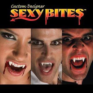 Sexy bites vampire teeth