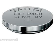 2 x Varta CR2450 / CR 2450 Vsrta DL2450 / DL 2450 Litihium 3V lose 6450