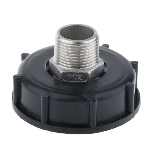 1000L IBC Adapter Coarse Thread Water Tank Connector Fits 3//4 Outside Thread