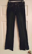 """Womens TYTE Low Rise Boot Cut Dark Wash Stretch Jeans 26"""" x 30.5"""""""