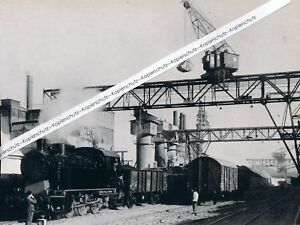 Waldshut am Hochrhein : Elektrochemische Fabriken - Werk - um 1950 -  - - Q 27-3