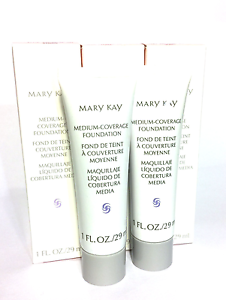 MARY-KAY-MEDIUM-COVERAGE-FOUNDATION-GRAY-PINK-CAP-NORMAL-amp-OILY-SKIN-CONTROL-OIL