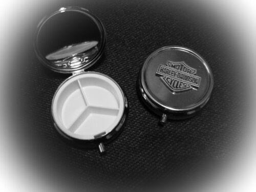 Harley Davidson Bar /& Shield Pin Pill Box