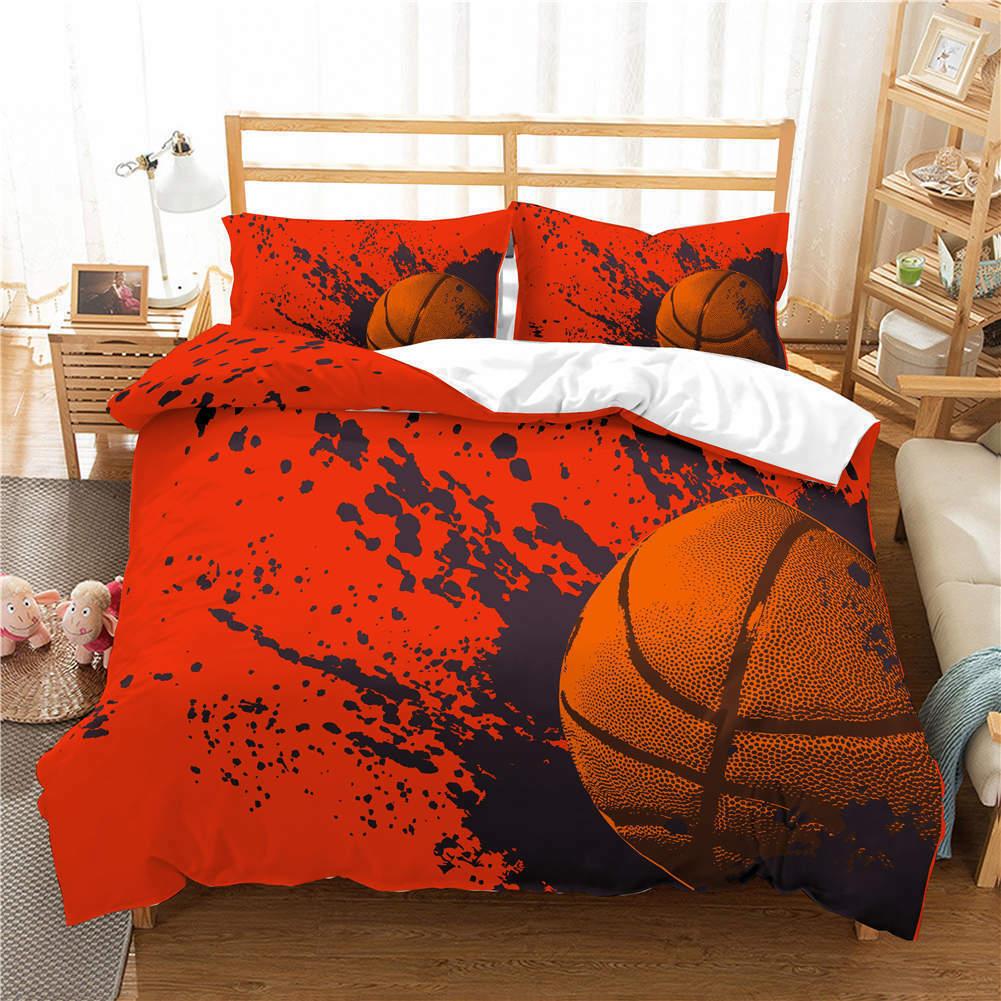 rouge Shadows Tree 3D impression couette courtepointe volonté des couvertures PilFaible cas literie ensembles