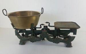 Beautiful Balance Antique Cast-Iron