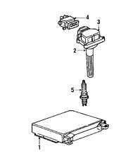 2004 bmw 525i integrated power supply module 12527510638 for sale Outside Fuse Box bmw 12120037607 genuine oem spark plug