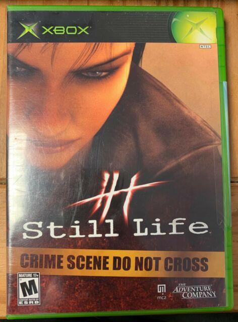 Original Xbox Neuf Scellé Jeu Still Life X Boîte Nous Ntsc