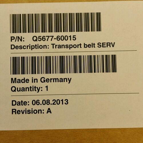 Q5677-60015 HP DesignJet 4500 Transporter Belt *New OEM*