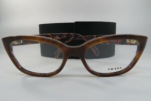 830a50581f New Authentic Prada VPR 20P MAU-1O1 Orange Tortoise Eyeglasses 52mm ...