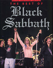The Best of Black Sabbath Sheet Music Guitar TAB Book