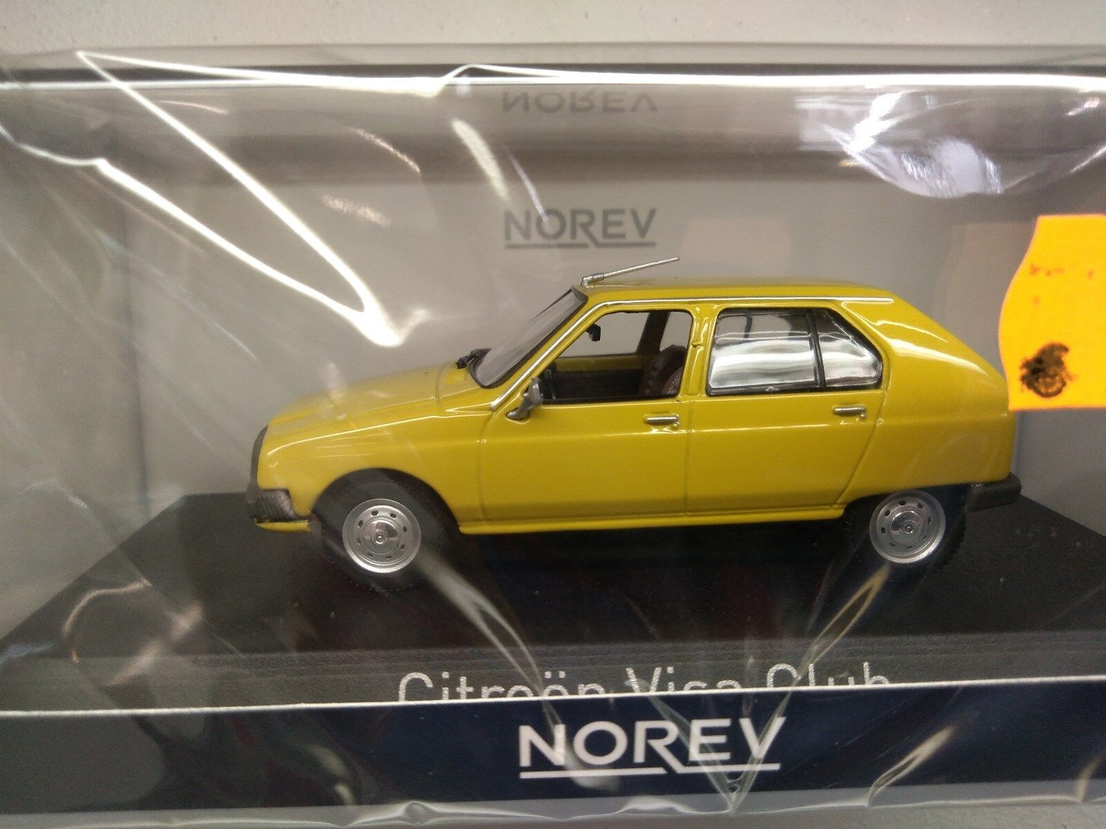 Miniature 1 43 Norev Citroên Visa club  1979 jaune