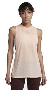 Nike-Damas-Fitness-Camisa-Del-Tanque-Drifit-Viento-de-Cola-Carmesi-Tinte