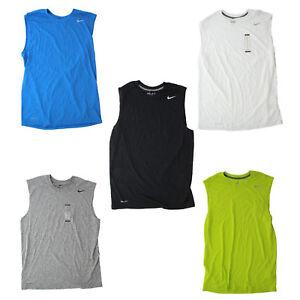 d4659ff30 Nike Men's Dri Fit Legend Active Training Sleeveless Tank Top Shirt ...