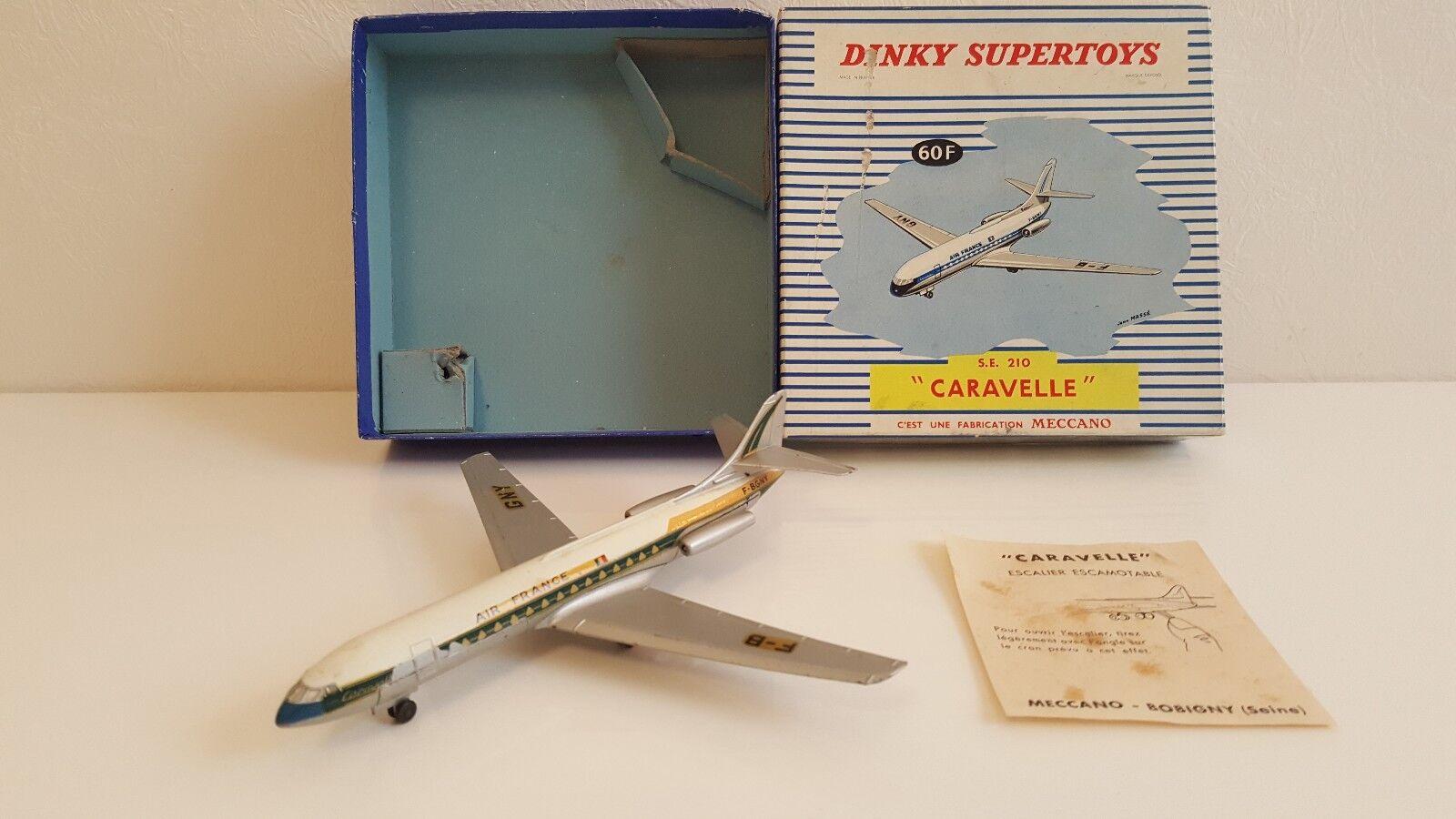 Dinky Spielzeugs - 60 F - Avion voitureavelle SE 210 en boîte d'origine