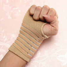 2016 Sport Elastic Palm Wrap Hand Brace Support Wrist Sleeve Band For Gym