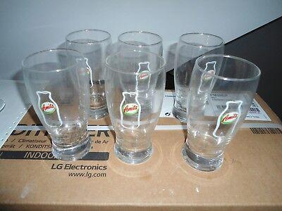6 Bicchieri Da Succo Amita Ebay