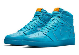 992cd6366b1c AIR JORDAN 1 GATORADE BLUE LAGOON Men s  AJ5997-455    GS  AJ6000 ...