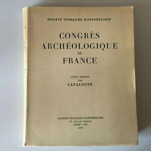 Congresso Archeologico Di Francia 117e Session 1959 Catalonia
