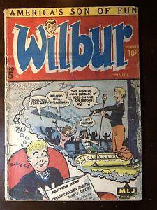 Wilbur-Comics-5-1945-1st-Katy-Keene-Key-Rare