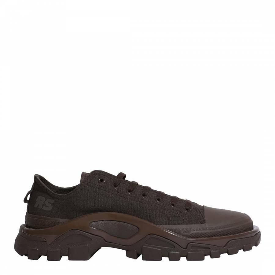 ADIDAS BY RAF SIMONS Dark braun RS Detroit Runner Lace up Trainers schuhe