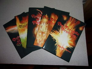 Dragon-Kaseraak-Series-James-A-Whitney-2015-Lot-Of-5-SIGNED-Paperback