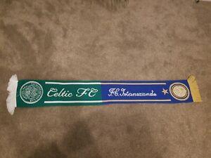 Celtic-V-INTER-VINTAGE-FOOTBALL-BUFANDA-SCIARPA-CALCIO-CHAMPIONS-LEAGUE-0520