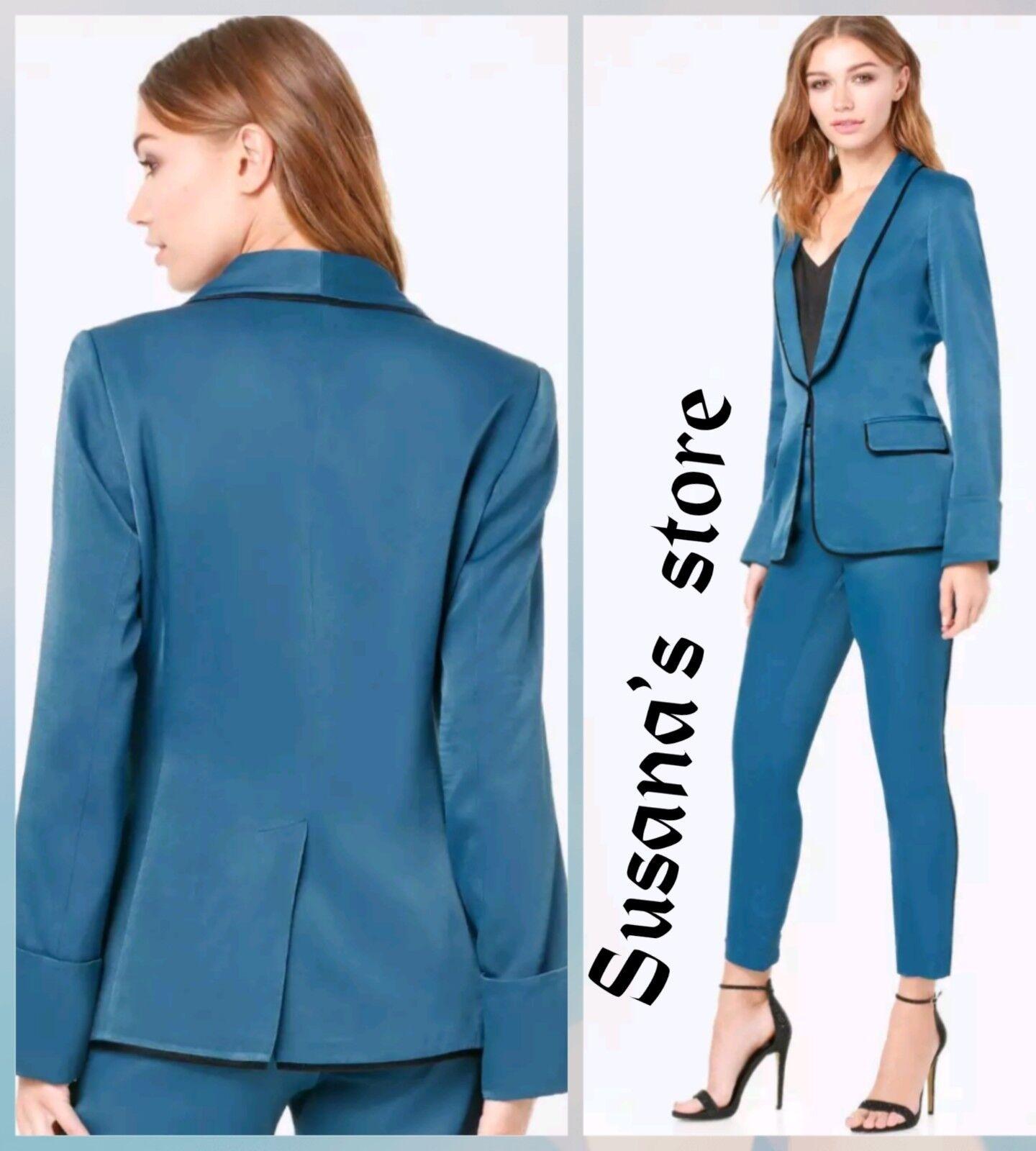NWT bebe Shawl Collar Blazer SIZE S Elegant and classy, very detailed