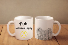 "Puli - ein Becher ""Makes me happy"" Subli Dog, DE"