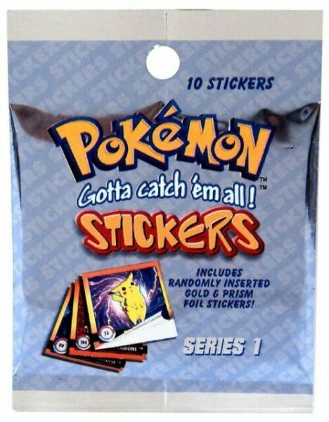 Pokemon series 1 sticker original 1999 nº pr43 Oddish and Bulbasaur Holo