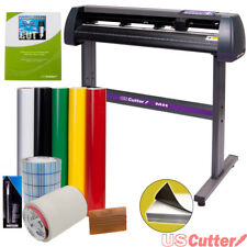 Vinyl Cutter MH-871 34in USCutter Sign Making Kit with Design and Cut