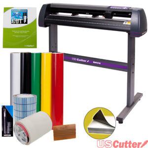 34-034-USCutter-Vinyl-Cutter-Plotter-Sign-Cutting-Machine-w-Software-Supplies