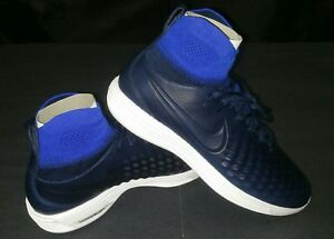 best loved 693c3 78a74 Image is loading Nike-Lunar-Magista-II-FK-College-Navy-Size-