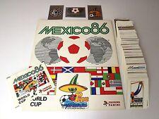 Panini WM 1986 Mexico 86 - Komplettset + Album + Tüte Megarar