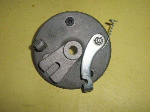 NEW Moped Brake Plate with Lever /& Spring