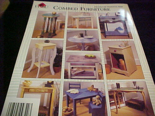 Combed Furniture Decorative Painting Book by Plaid NEW