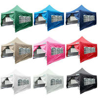 Quictent Silvox® 10x10'ez Pyramid-roofed Pop Up Canopy Gazebo Party Tent 8 Color