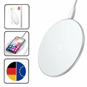 apple iphone x xs 11 pro max ladestation qi charger wireless induktive ger t ebay. Black Bedroom Furniture Sets. Home Design Ideas