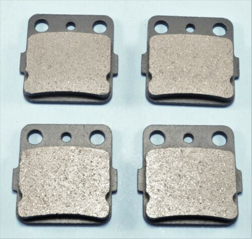 Front Brake Pads /& Rear Shoes For YAMAHA Grizzly 600 YFM600 1998-2001